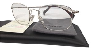 Giorgio Armani NEW GIORGIO ARMANI GA 864 COLOR 010 SILVER METAL EYEGLASSES AUTHENTIC