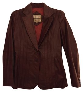 Casablanca Brown Leather Jacket