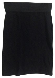 Wet Seal Pencil Stretchy Skirt Black