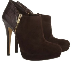 MICHAEL Michael Kors Black Suede/ Leather Boots