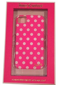 Juicy Couture Iphone Case-Polka Dots