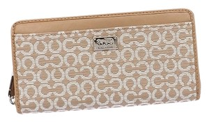 Coach COACH F49614 MADISON NEEDLEPOINT OP ART FABRIC ACCORDION WALLET NEW WITH TAG
