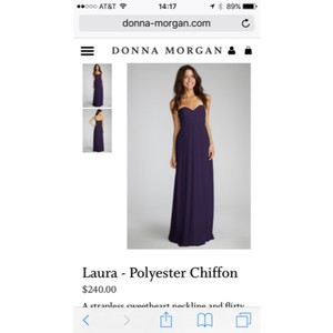 Donna Morgan Amethyst Laura Dress