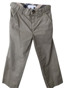 Burberry Straight Pants Taupe