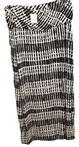 Calvin Klein Maxi Skirt Black/white