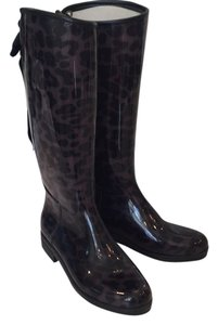 däv Leopard, black/gray/purple Boots