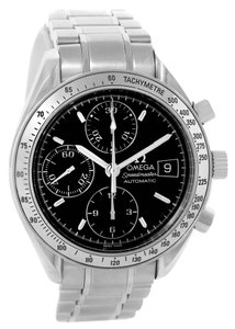 Omega Omega Speedmaster Date Black Dial Mens Automatic Watch 3513.50.00