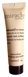Philosophy miracle worker miraculous antiaging moisturizer travel size