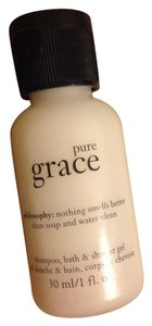 Other Philosophy pure grace shampoo bath shower gel travel size