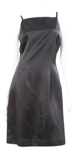 Lynn Lugo Satin Sheen Sheath Dress
