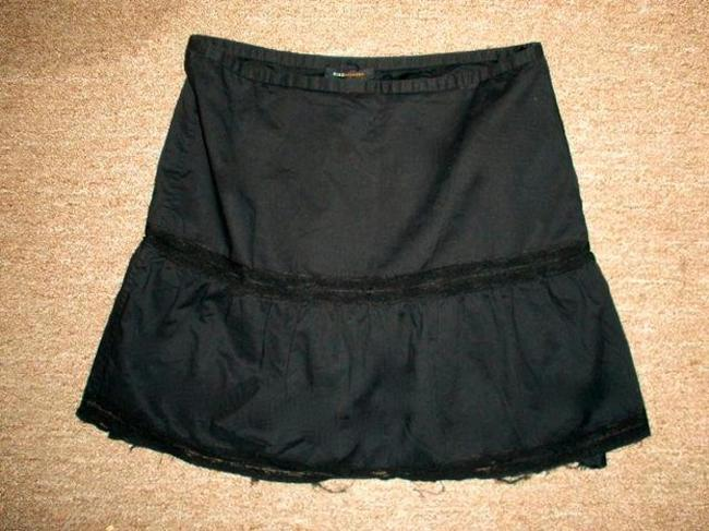 BCBGMAXAZRIA Size 6 Dress Skirt BLACK Image 1