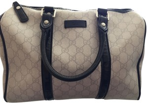 Gucci Satchel in White and black
