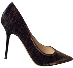 Jimmy Choo Black/Amber Pumps