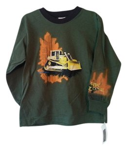 OshKosh B'gosh T Shirt Dark Green