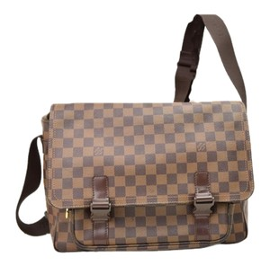 Louis Vuitton Damier Lv Damier Ebene Messenger Bag