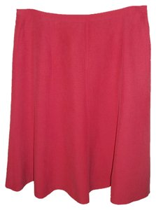 Jones New York Flirty A-line Skirt Red