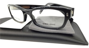 Giorgio Armani NEW GIORGIO ARMANI GA 890 COLOR 807 BLACK PLASTIC EYEGLASSES MADE IN ITALY