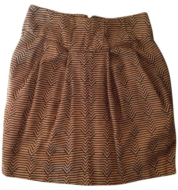 Urban Outfitters Mini Skirt Brown