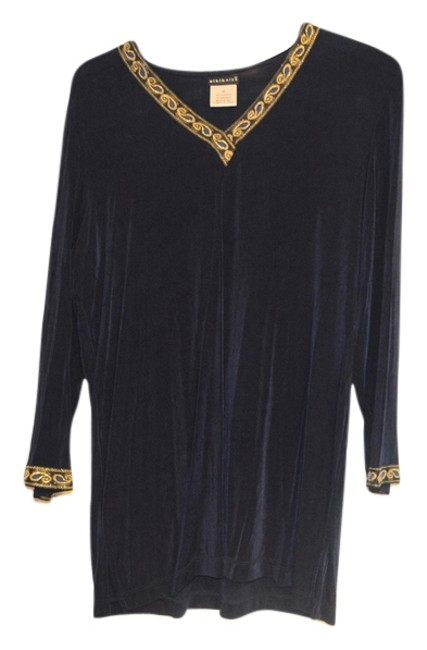 Preload https://img-static.tradesy.com/item/8824942/citiknits-navy-blue-travelers-style-slinky-embellished-large-tunic-size-14-l-0-2-650-650.jpg