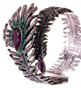 Other Jewel Feather Wrap Cuff