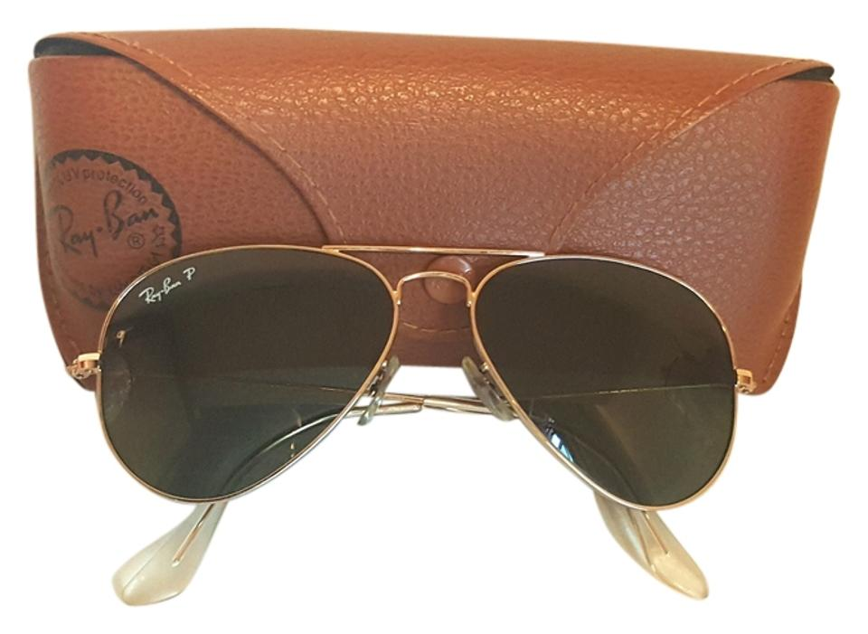 Ray Large 3pSunglasses Aviator 15greenPolarized Lens 00158 5514 53Off Retail Ban Gold Frame G Classicrb3025 Metal pGqSULzMV