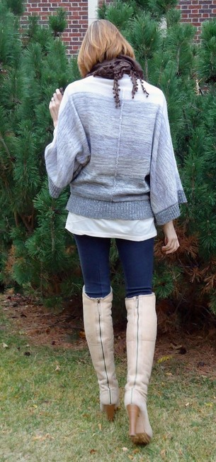 Joie Cashmere Wool Blend Poncho Sweater Image 11