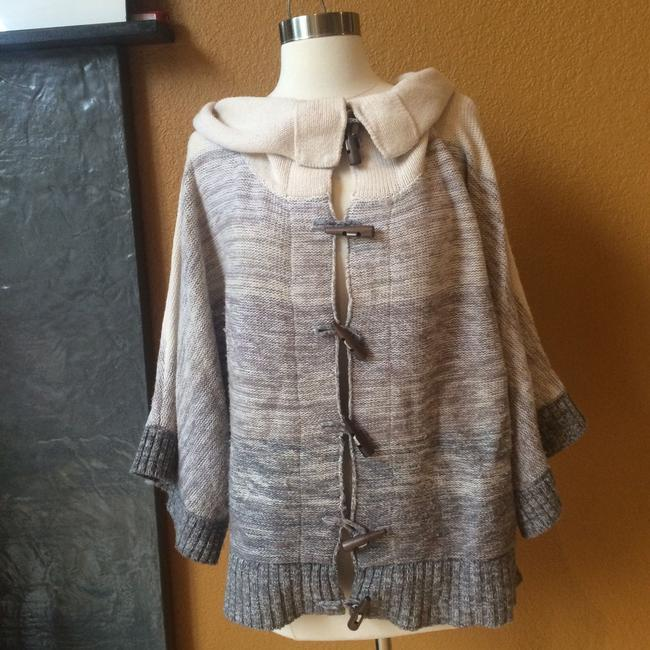 Joie Cashmere Wool Blend Poncho Sweater Image 2