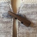 Joie Cashmere Wool Blend Poncho Sweater Image 4