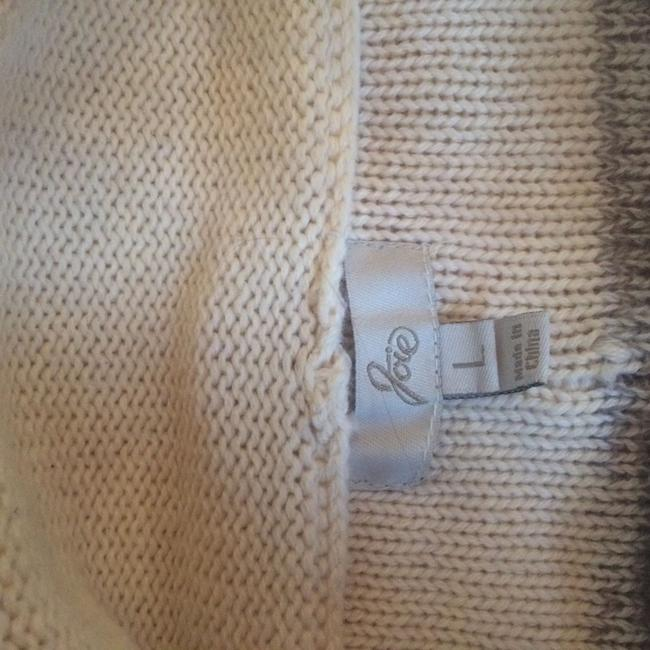 Joie Cashmere Wool Blend Poncho Sweater Image 8