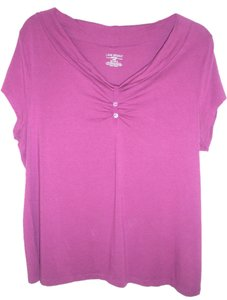 Lane Bryant Top Fuscia 18/20