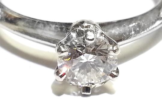 Tiffany & Co. THE TIFFANY SETTING 0.48Ct DIAMOND SOLITAIRE PLATINUM RING SIZE 6 Image 2