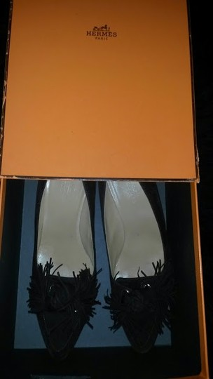 Hermès Shall We Dance Collection 2007 Chocolate Euro Size 40 Us Size 10 Career Work Classic Low Heels Brown Pumps Image 11