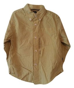 GAP KIDS Button Down Shirt Yellow