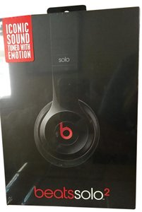 Beats By Dre Beats by Dre Solo 2 - Black, Sealed