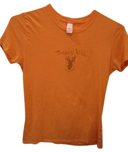 Hype Vintage Deer Wife T Shirt Peach
