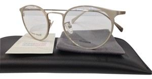 Giorgio Armani NEW GIORGIO ARMANI GA 893 COLOR XYA LIGHT GOLD ROUND TITANIUM EYEGLASSES FRAME