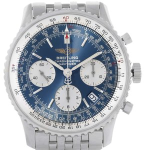 Breitling Breitling Navitimer Chronograph Blue Dial Steel Watch A23322