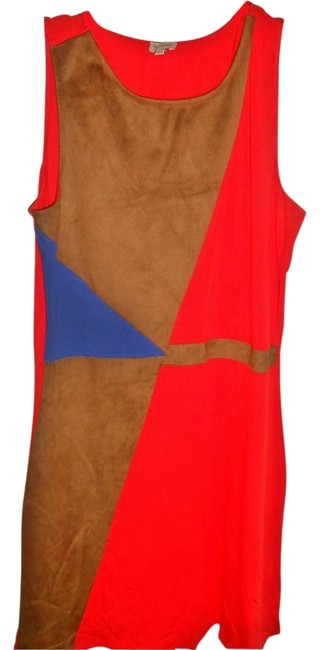 Daniel Cremieux short dress Brown/Blue/Red on Tradesy Image 1