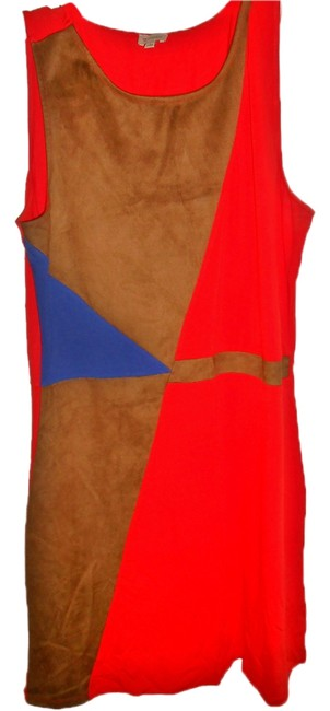 Daniel Cremieux short dress Brown/Blue/Red on Tradesy Image 2