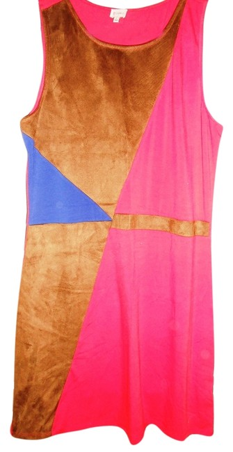 Daniel Cremieux short dress Brown/Blue/Red on Tradesy Image 3