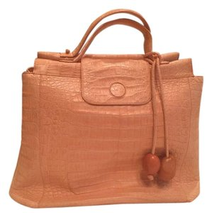 Nancy Gonzalez Satchel in Salmon