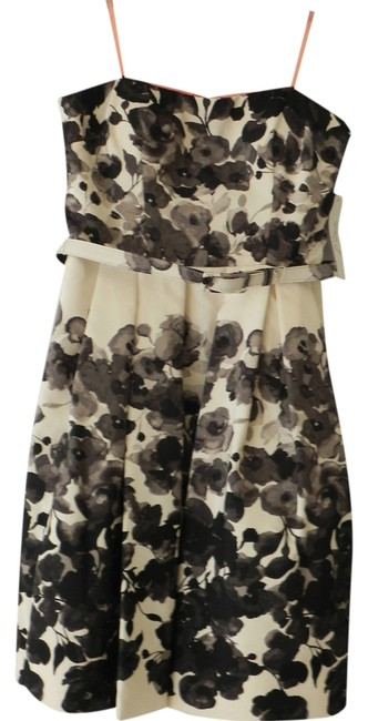 Preload https://item5.tradesy.com/images/eliza-j-cream-and-black-above-knee-cocktail-dress-size-8-m-882784-0-0.jpg?width=400&height=650