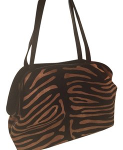 Other Zebra Print Animal Print Shoulder Bag