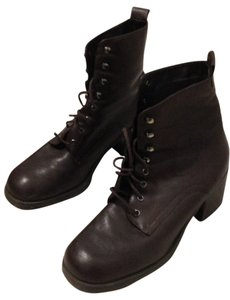 Nuva Dark Brown Leather Boots