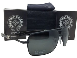Chrome Hearts CHROME HEARTS Sunglasses SOPHISTAFUCKS 63-14 MBK-EBPV Black & Ebony Wood w/ Grey