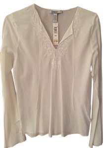 Laundry by Shelli Segal Peasant-style Casual Daytime Night Out Tunic
