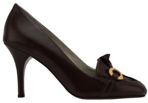 MS Shoe Designs Brown Pumps