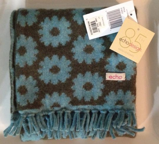 Echo Design Echo Scarf, Teal And Green, New With Tags Image 1
