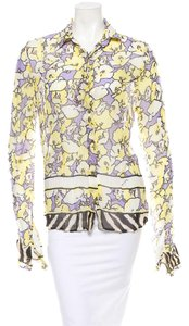 Roberto Cavalli Top Multi color