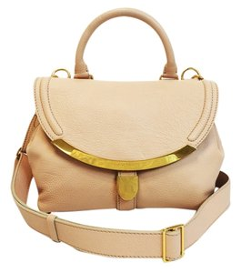 d228c09cf7dc5 See by Chloé Lizzie Small Satchel Nude   Light Pink Leather Shoulder ...